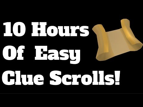 OSRS Loot From 10 Hours of Easy Clue Scrolls! | Road to 100 Hours of Easy Clues!