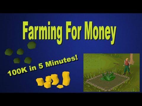 OSRS- Herb Run 100k in 5 Mins! Low Level Farming Guide