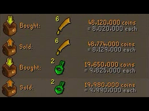 [OSRS] FLIPPING THE HIGHEST MARGIN ITEMS IN F2P - EP #3 - Flipping to 100m using F2p Items Only!
