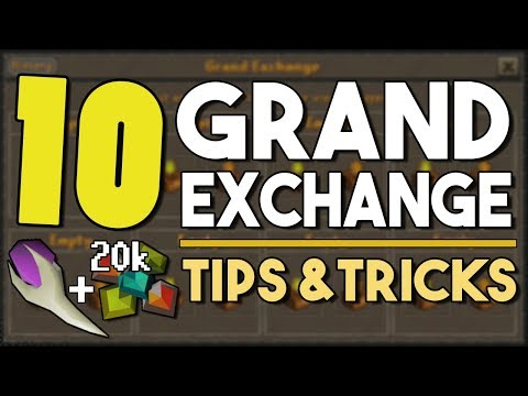 Top 10 Grand Exchange Tips and Tricks! - Ep. 1 [OSRS]