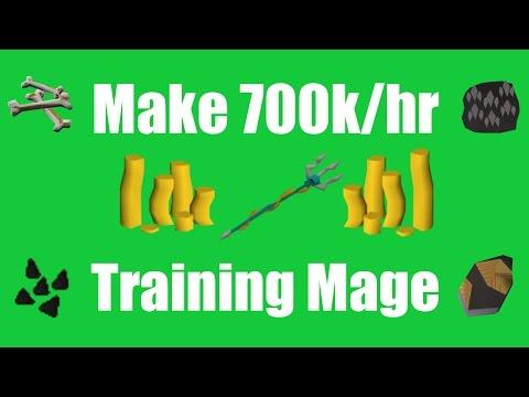 [OSRS] Make 700k/hr While Training Magic! - Oldschool Runescape Money Making Method!