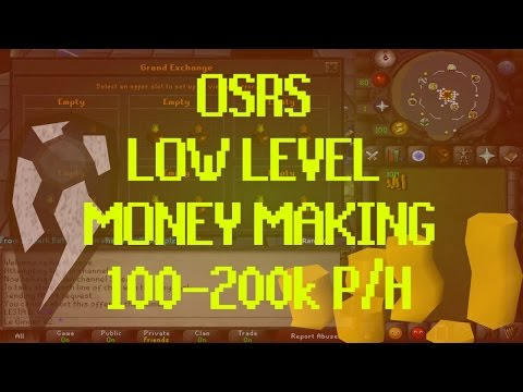 OSRS MONEY MAKING - 100-200k P/H (NO REQS)
