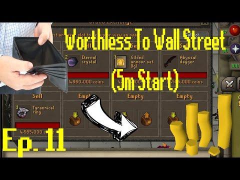 Worthless to Wall Street Ep 11!! OMG BIGGEST FLIPS YET!! [OSRS Merching] [5M Start]
