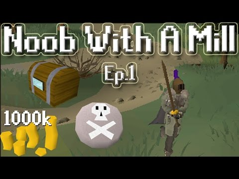 Noob With A Mill [Episode 1] Money Making| Clue Scrolls| And GAINS