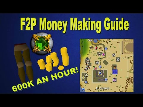 OSRS - F2P Money Making! BOND IN 4 HOURS 600K AN HOUR!
