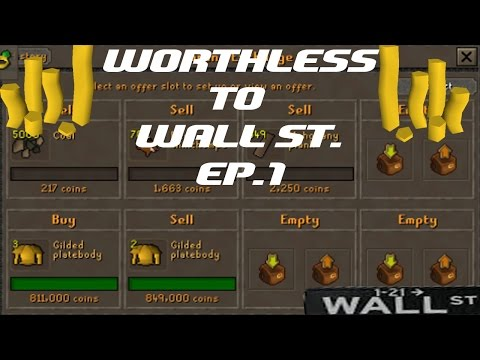 Worthless To Wall Street Ep 1!! New Merching Series!! 5m To ???