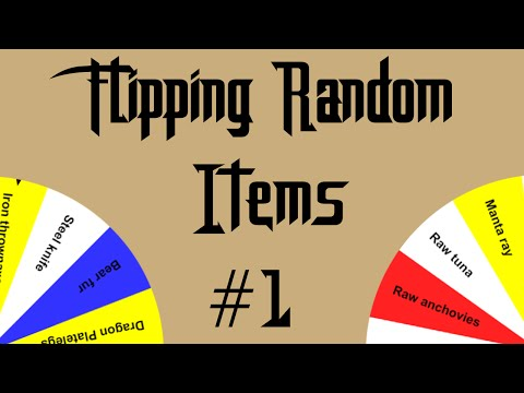 [OSRS] Can You Make Bank Flipping Random Items? [Episode #1] Let the Random Number Generator Decide!