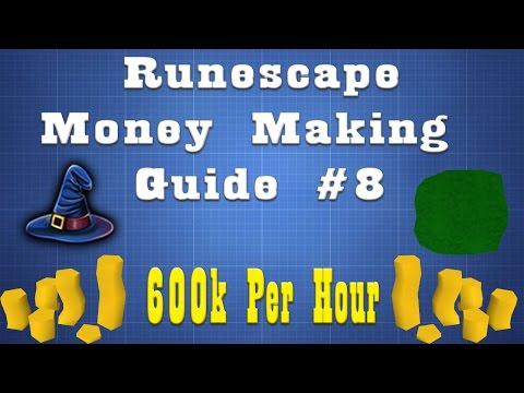 120K Magic Xp/Hr + 600k Gp/Hr! Insane Magic Method!! [07 Runescape] Episode 8