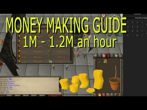 OSRS - Up To 1200k An Hour! Easy! Oldschool Runescape Money Making Guide