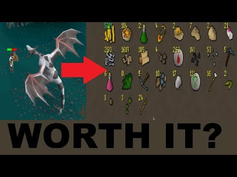 LOOT from 200 BUFFED* Ancient Wyverns (Are they worth it?) - 2007 Oldschool Runescape