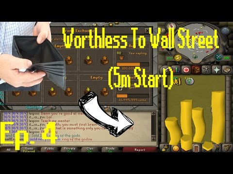 [OSRS Merching] Worthless to Wall Street Ep 4!! [5 Mill Start Series] BEST MERCH OF THE SERIES?