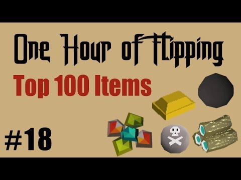 [OSRS] How I Made 1.3m in 1 Hour of Flipping the Top 100 Most Traded Items Only!  [Episode #18]