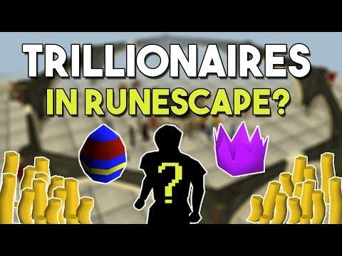 Do Trillionaires Exist In Runescape? - 3 Possible Runescape Trillionaires that May Have Existed!