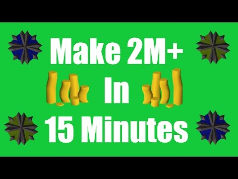 [OSRS] Make 2M+ in 15 Minutes with No Requirements - Oldschool Runescape Money Making Method!